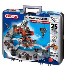 Meccano-Erector – Super Construction Set, 25 Models, 640+ Parts Just $50 (reg. $79.99)!!!