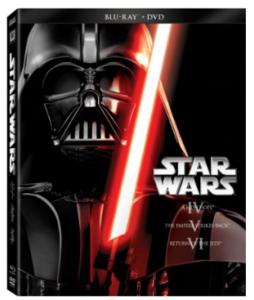 Star Wars Trilogy Episodes IV-VI (Blu-ray + DVD) only $29.99 (reg. $34.96)!!!