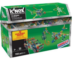 K'NEX 70 Model Building Set just $23.99 (reg. $39.99)!!!