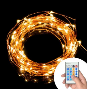 TaoTronics Dimmable Led String Lights Copper Wire 33ft LED only $15.99 (reg. $39.99)!!!