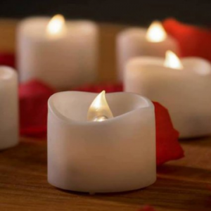 Mars Flameless Candles – 12 White Bright LED Tea Lights only $15.95 (reg. $22.99)!!!