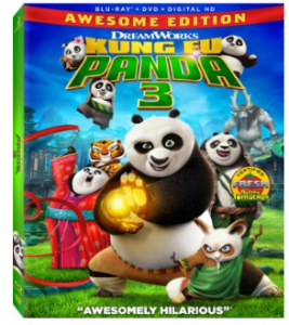 Pre-order Kung Fu Panda 3 [Blu-ray] for just $19.96 (reg. $36.99)!!!