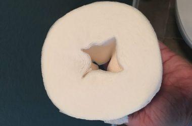 No tubes with Scott Tube-Free Bathroom Tissue!