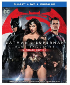Batman v Superman: Dawn of Justice (Ultimate Edition Blu-Ray+Theatrical Blu-Ray+DVD+Digital UltraViolet Combo Pack) Just $24.99 (reg. $35.99)!!!
