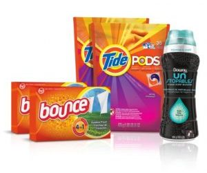 Tide Amazing Laundry Bundle (68 Loads): Tide PODS, Bounce Sheets and Downy Unstopables only $22.32 shipped Today Only!!!
