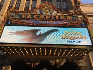 Disney's Pete's Dragon Premiere, Live from the Green Carpet