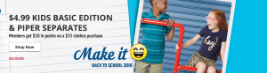 Enjoy EASY Back to School Shopping with Raise + Kmart! Enter to win a $150 Gift Card! #RaiseB2S