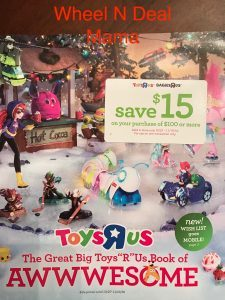 The Great big Toys R us Book of Awesome…..
