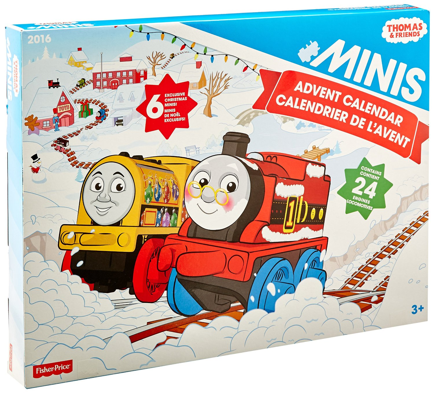 fisher price thomas the train minis advent calendar only. Black Bedroom Furniture Sets. Home Design Ideas
