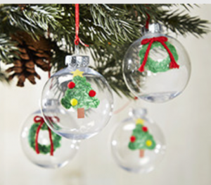 Make your own christmas ornament at michaels 11 12 wheel for Michaels christmas tree ornaments