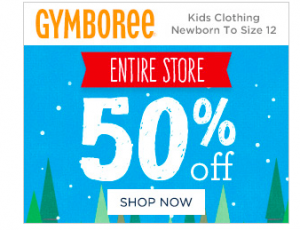 GYMBOREE Black Friday Sale is HERE
