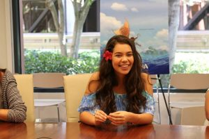 Exclusive Interview with Disney's Moana Star Auli'i Cravalho #MOANA