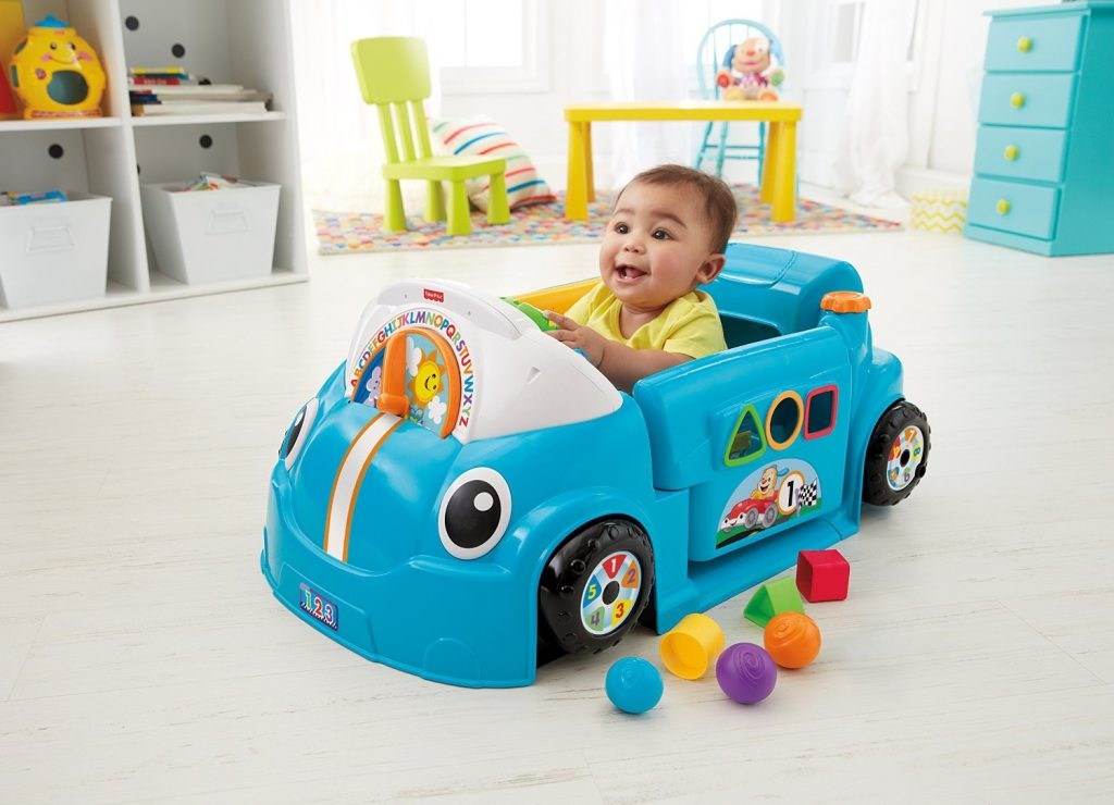 Laugh & Learn Smart Stages Blue Crawl Around Car only $46 ...