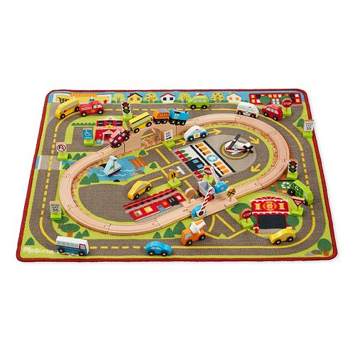 Head On Ver To Kohls Where You Can Get This Melissa Doug Deluxe Activity Rug For Only 38 57 Regularly 89 99