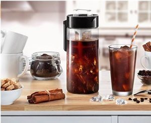 Francois et Mimi BPA-free Glass Iced Coffee Maker, Cold Brew Coffee Pot $10 (reg. $29.95)