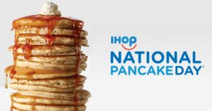 FREE Short Stack of Buttermilk Pancakes at IHop on March 7th