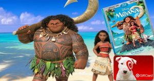 Pre-Order Moana Blu-ray/DVD Combo Pack for $19.99 + Free $5 Gift Card
