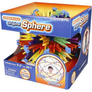 Original Hoberman Sphere Rings Toy $19.96 (Reg. $29.45)