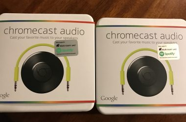 Google Chromecast Audio; Stream ANY Music to Your Speakers!