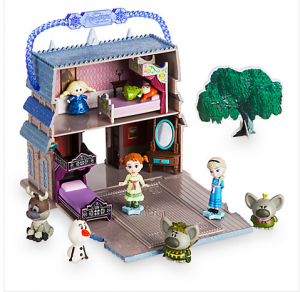 Frozen Micro Doll Play Set Only $11.97