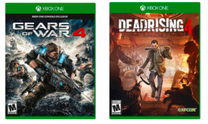 Gears of War 4  Xbox One Or Dead Rising 4 Xbox One $29.99 Each Today Only (Reg $59.99)