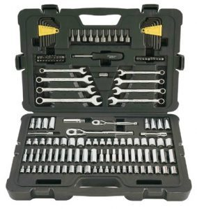 Stanley 145-Piece Mechanics Tool Set $42.46