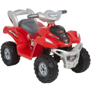 Kids Ride On ATV 6V Toy Quad Battery Power Electric 4 Wheel Power Bicycle Red $54.95 (reg. $129.95)