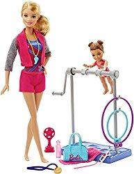 Barbie Gymnastic Coach Dolls & Playset $14.99
