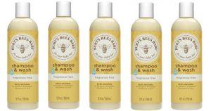3 Pack Burt's Bees Baby Wash 12oz Bottles $12.28 Shipped