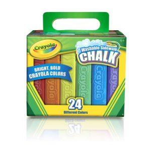 24 Pack Crayola Sidewalk Chalk $2.47