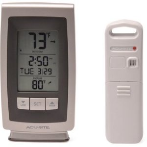 Wireless Weather and Clock Station Only $8.48