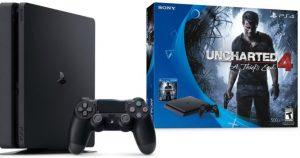 Uncharted 4 PlayStation 4 500GB Slim Bundle $209 Shipped (Reg. $299)