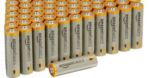 AmazonBasics AA Batteries 100 Count Pack $13.74 Shipped