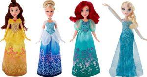 14″ Disney Princess Dolls Starting $5.09 Each