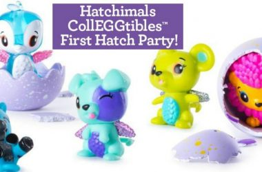 Hatchimals CollEGGtibles First Hatch Party on May 20th