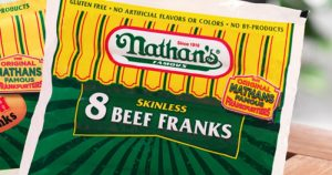 Over 200,000 Pounds of Nathan's Famous & Beef Master Hot Dogs Have Been Recalled
