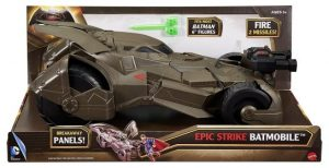 Epic Strike Batmobile Vehicle $10