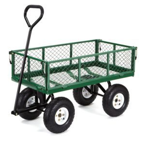Gorilla Carts Steel Utility Cart w/ Removable Sides $55.05 (Reg. $99.99)
