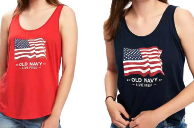 Old Navy Graphic Flag Tanks $2.40