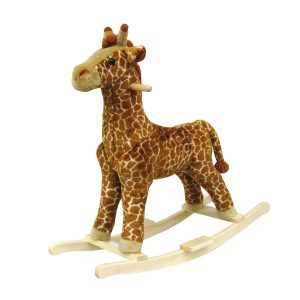 Happy Trails Giraffe Plush Rocking Animal $36.49