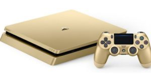 Limited Edition Gold PlayStation 4 Slim 1 TB System $249.99 Shipped