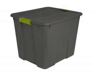 Sterilite 20-Gallon Storage Tote w/ Latching Lid $5