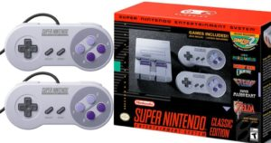 Super NES Classic Edition Console With 21 Games $79.99 COMING SOON
