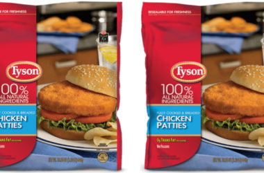 2 Million Pounds of Tyson Chicken Patties Recalled For Undeclared Milk Allergen