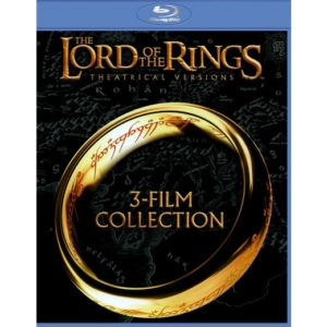 The Lord of the Rings 3-Film Collection Blu-ray Set $10 (Reg. $24.98)