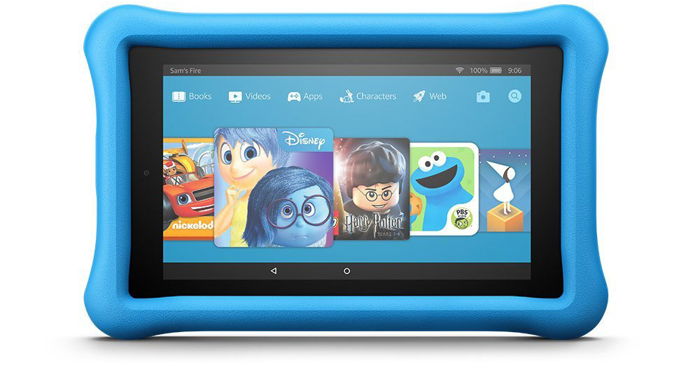 Kindle fire 7 kids edition 16gb tablets shipped reg 100 wheel n deal mama - Six uses old tablet ...
