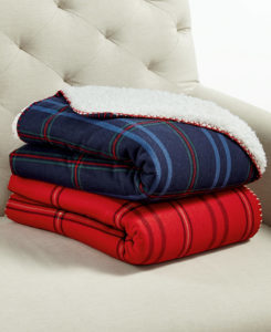 Martha Stewart Sherpa Throw $11.06 (Regularly $60)