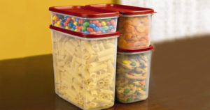 Rubbermaid 8-Piece Modular Food Storage Canister Set $15.97