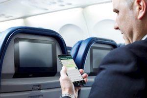 Delta Offering Free In-Flight Text Messaging