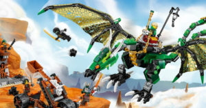 FREE LEGO Ninjago Green Dragon Mini Model (October 7th)